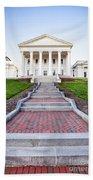 Virginia State Capitol Building Bath Towel