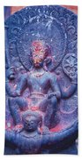 Vishnu Astride Garuda Bath Towel