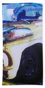 Visions Of Alpine Revisited Bath Towel