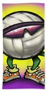 Volleyball Bath Towel