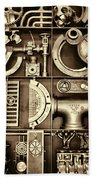 Vulcan Steel Steampunk Ironworks Bath Towel