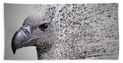 Vulture Break Up Bath Towel
