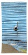 Wading Heron Bath Towel