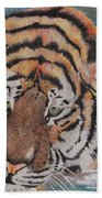 Wading Tiger Bath Towel