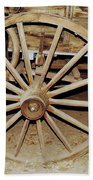 Wagon Wheel Bath Towel