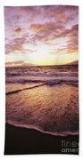Wailea Beach At Sunset Bath Towel