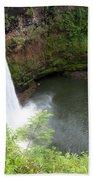 Wailua Falls, Kauai Bath Towel