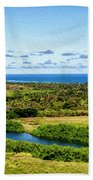 Wailua River Bath Towel