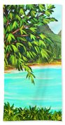Waimanalo Beach Oahu #385 Hand Towel
