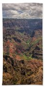Waimea Canyon 7 - Kauai Hawaii Bath Towel
