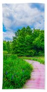 Walk Into Beauty Shaw's Nature Reserve Wet Lands Bath Towel