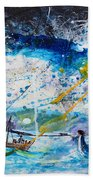 Walking On The Water Hand Towel