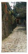 Walking The Streets Of Santa Lucia - 2 Bath Towel