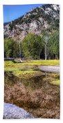 Wallowa Lake Reflections Bath Towel