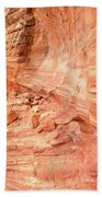Walls Of Wash 3 In Valley Of Fire Bath Towel