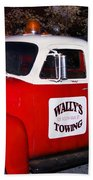 Wallys Service Truck Bath Towel