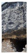 Walnut Canyon National Monument Cliff Dwellings Bath Towel