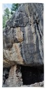 Walnut Canyon National Monument Portrait Bath Towel