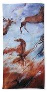Wapiti- Petroglyph Bath Towel