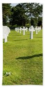 War Crosses In Normandy Bath Towel