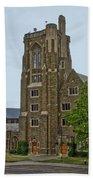 War Memorial Lyon Hall Cornell University Ithaca New York 03 Bath Towel