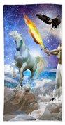 Warrior Bride Of Christ Hand Towel