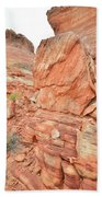 Wash 3 Of Valley Of Fire Bath Towel