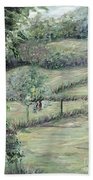 Washday In Provence Hand Towel