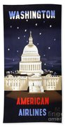 Washington Dc Bath Towel