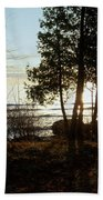 Washington Island Morning 3 Bath Towel