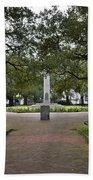 Washington Park, Charleston, Sc Bath Towel