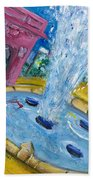 Washington Sqaure Park Bath Towel
