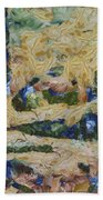 Water And River Delta  Bath Towel
