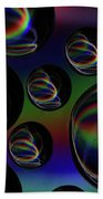 Water Droplets 5 Hand Towel