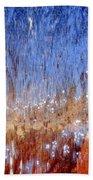 Water Fountain Abstract #63 Bath Towel