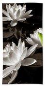 Water Lilies Bath Towel