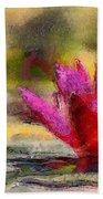Water Lily - Id 16235-220419-3506 Bath Towel