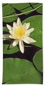 Water Lily I V Bath Towel