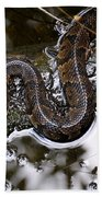 Water Moccasin Bath Towel