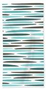 Water Ripple Bath Towel by Jocelyn Friis