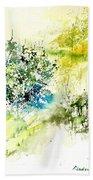 Watercolor 014042 Bath Towel