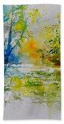 Watercolor 015003 Bath Towel