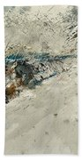 Watercolor 018001 Bath Towel