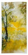 Watercolor 210108 Bath Towel