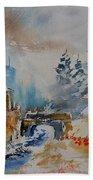 Watercolor  902102 Bath Towel