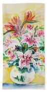 Watercolor Series 141 Bath Towel