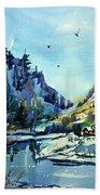 Watercolor3810 Bath Towel