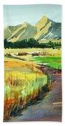 Watercolor4476 Bath Towel