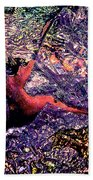 Waterdrop Abstract Bath Towel
