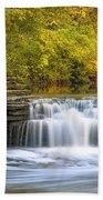 Waterfall Glen, Lemont, Il Hand Towel